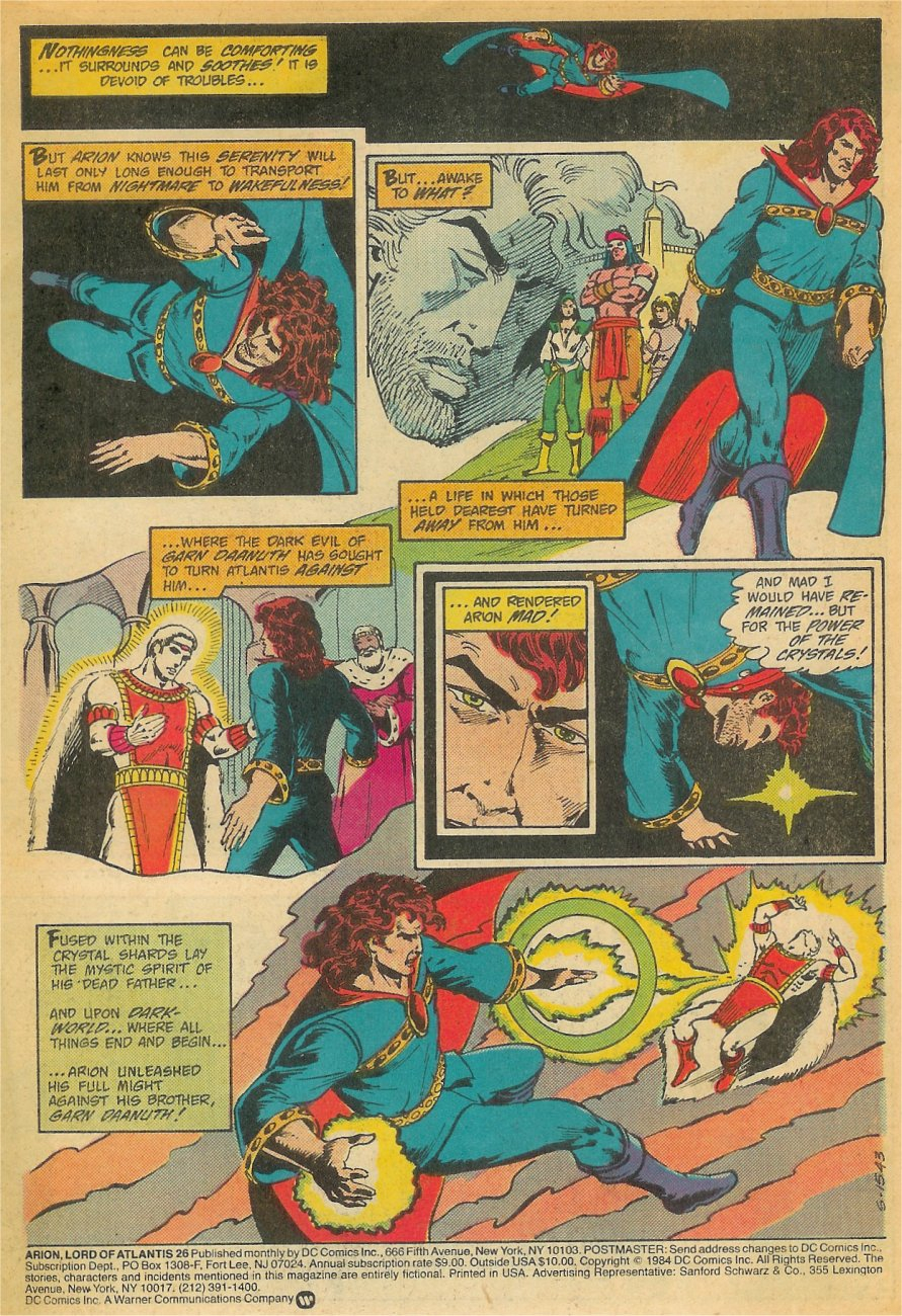 Read online Arion, Lord of Atlantis comic -  Issue #26 - 2