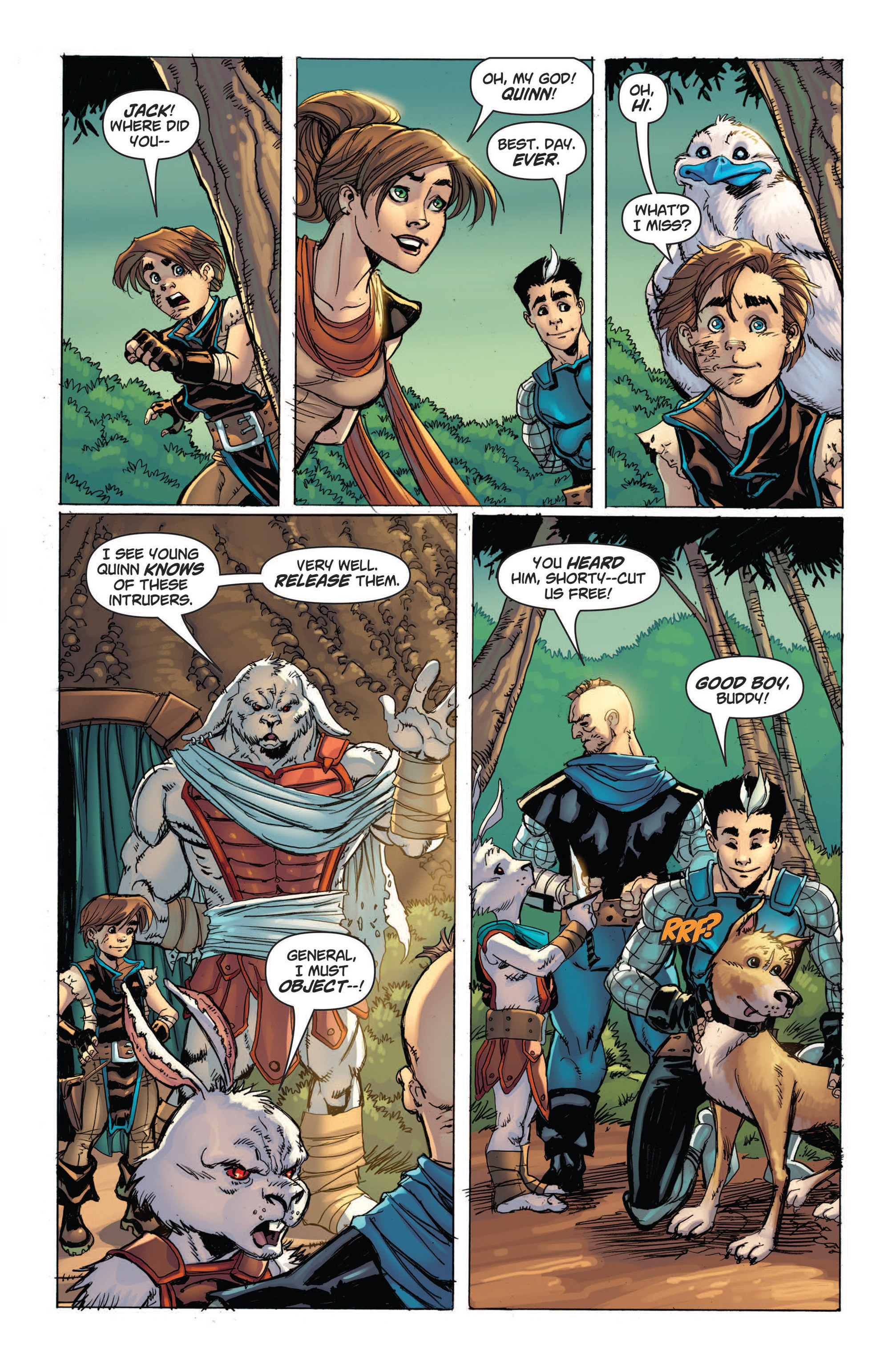 Read online Skyward comic -  Issue #4 - 21