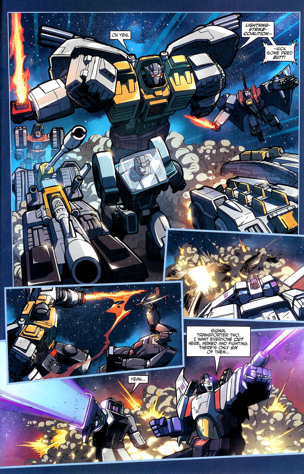 "Read online Transformers War Within: ""The Dark Ages"" comic -  Issue #1 - 20"