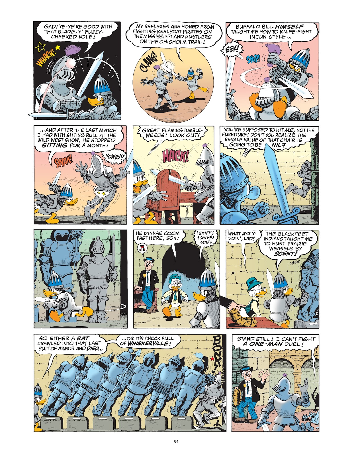 Read online The Complete Life and Times of Scrooge McDuck comic -  Issue # TPB 1 (Part 1) - 87