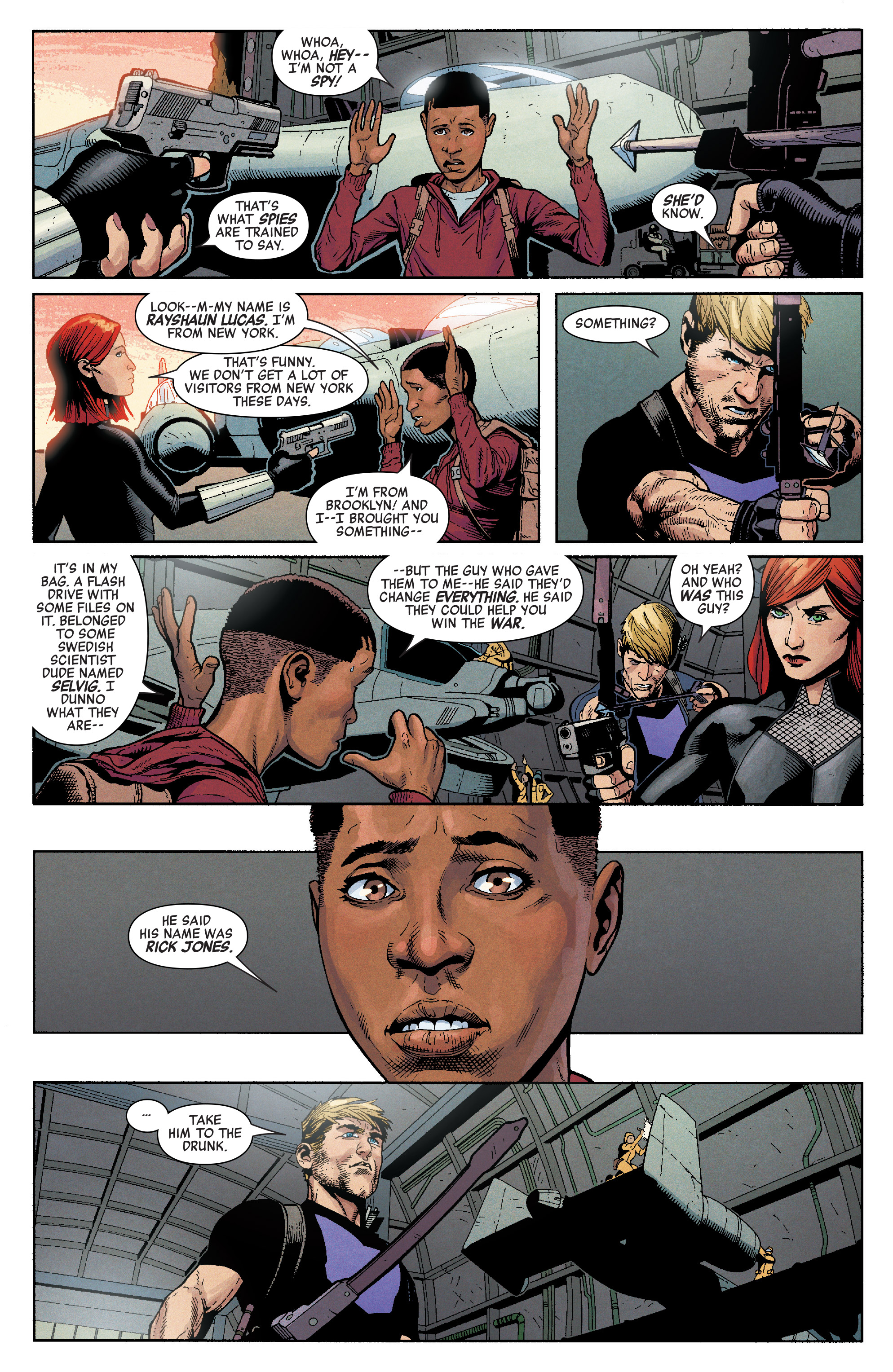 Read online Secret Empire comic -  Issue #1 - 25