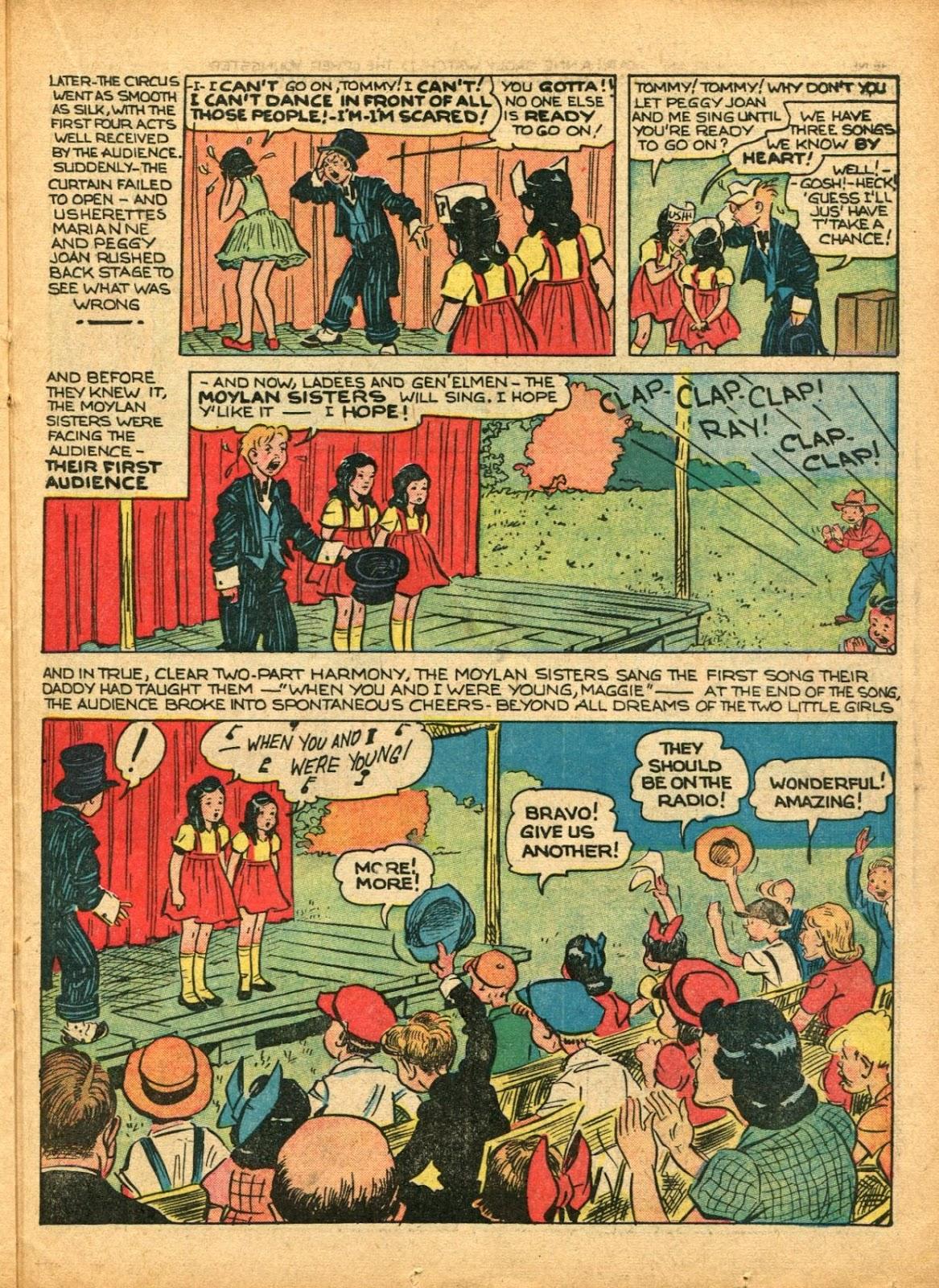 Read online Super-Magician Comics comic -  Issue #5 - 42