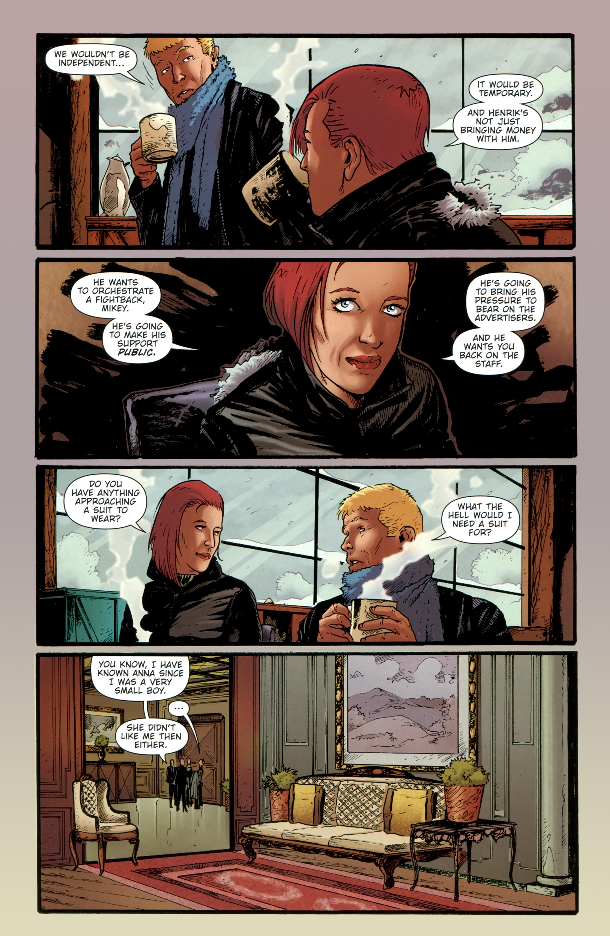 Read online The Girl With the Dragon Tattoo comic -  Issue # TPB 1 - 127