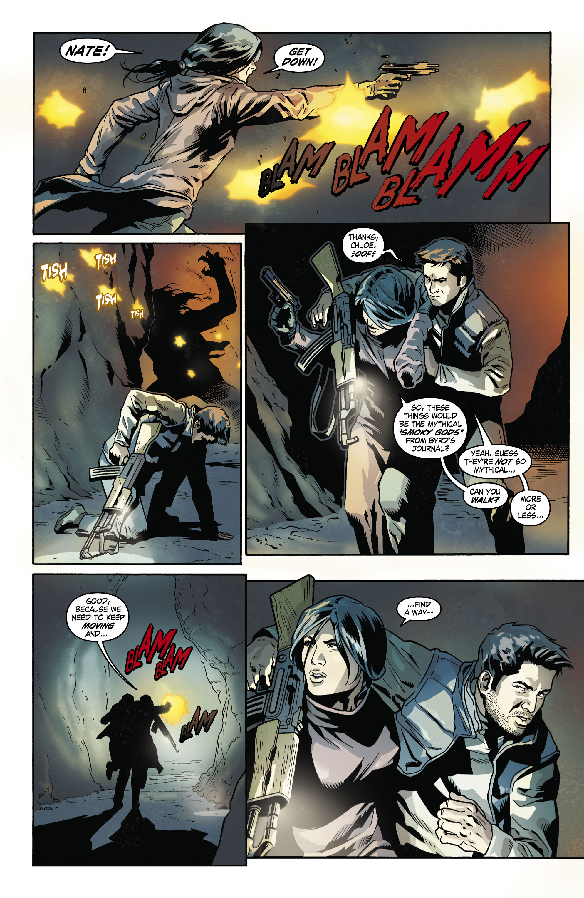 Read online Uncharted comic -  Issue #5 - 5