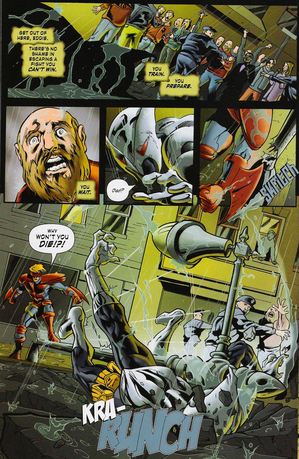Read online ShadowHawk (2005) comic -  Issue #4 - 12