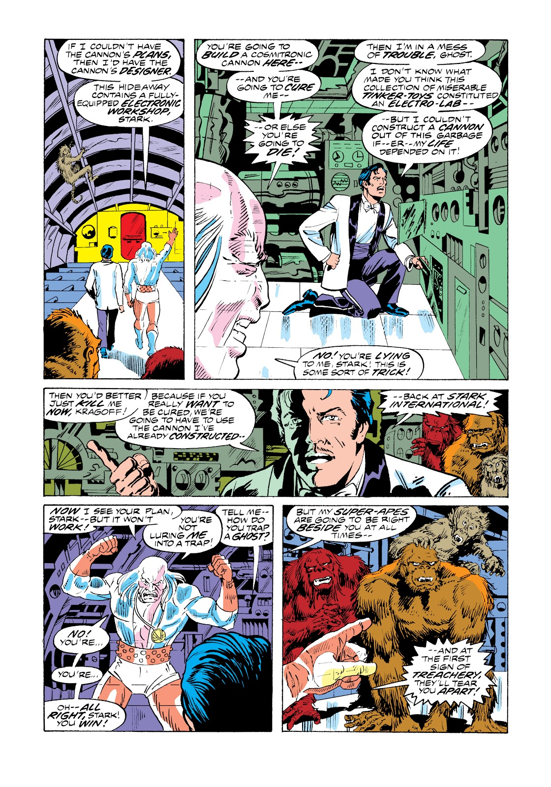 Read online Marvel Masterworks: The Invincible Iron Man comic -  Issue # TPB 11 (Part 1) - 34