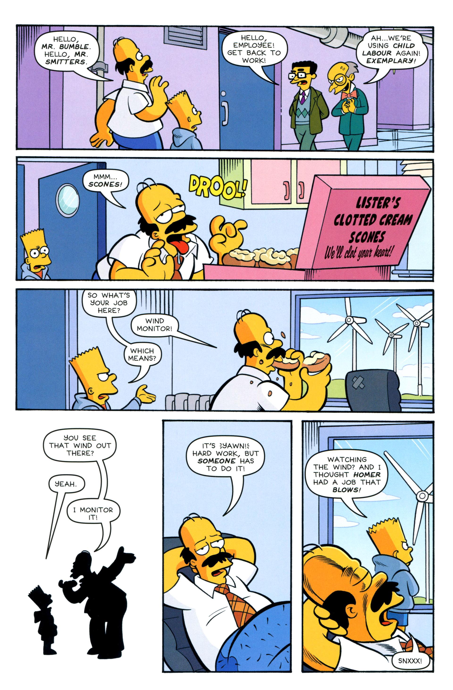 Read online Simpsons Comics comic -  Issue #208 - 10