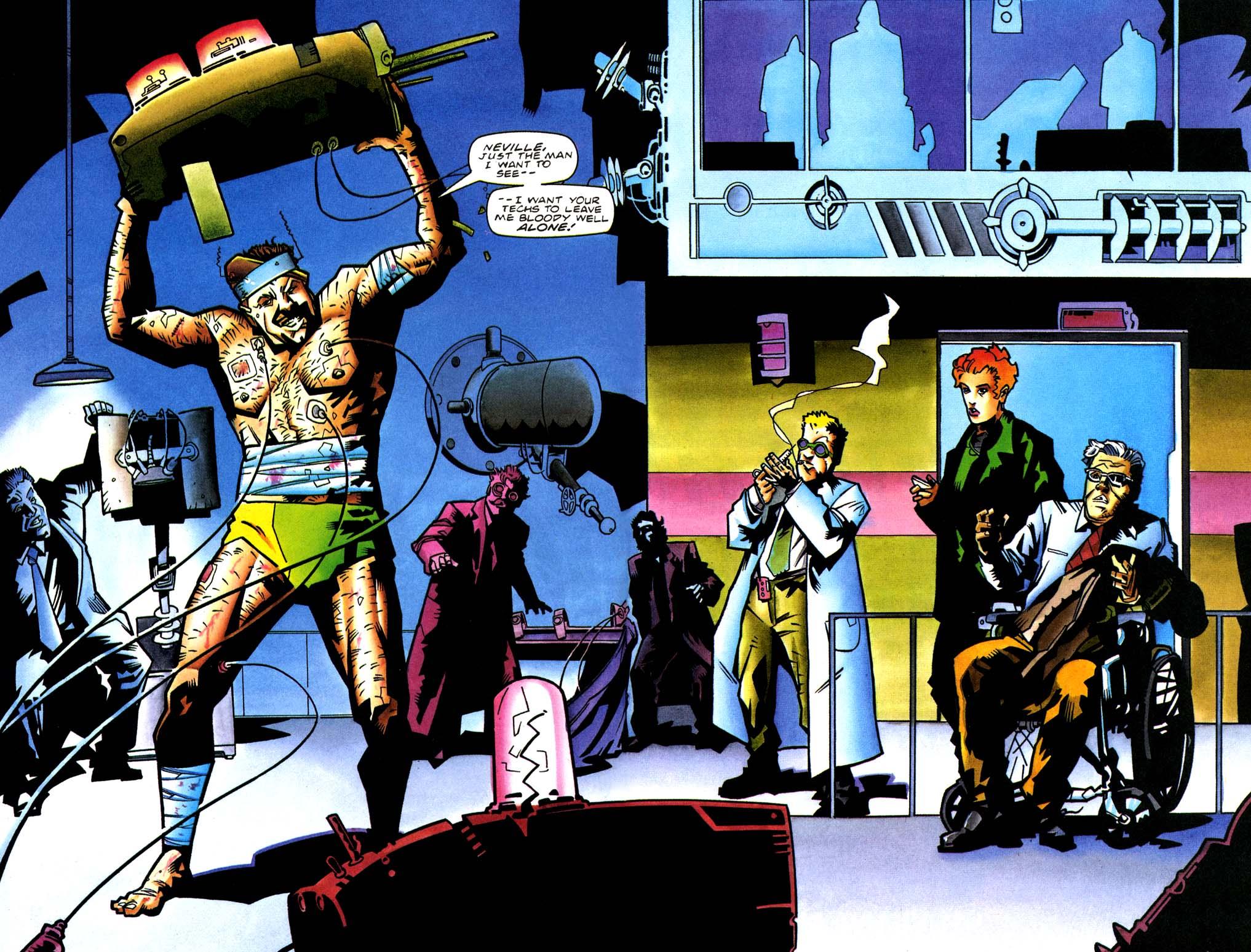 Read online Secret Weapons comic -  Issue #21 - 11