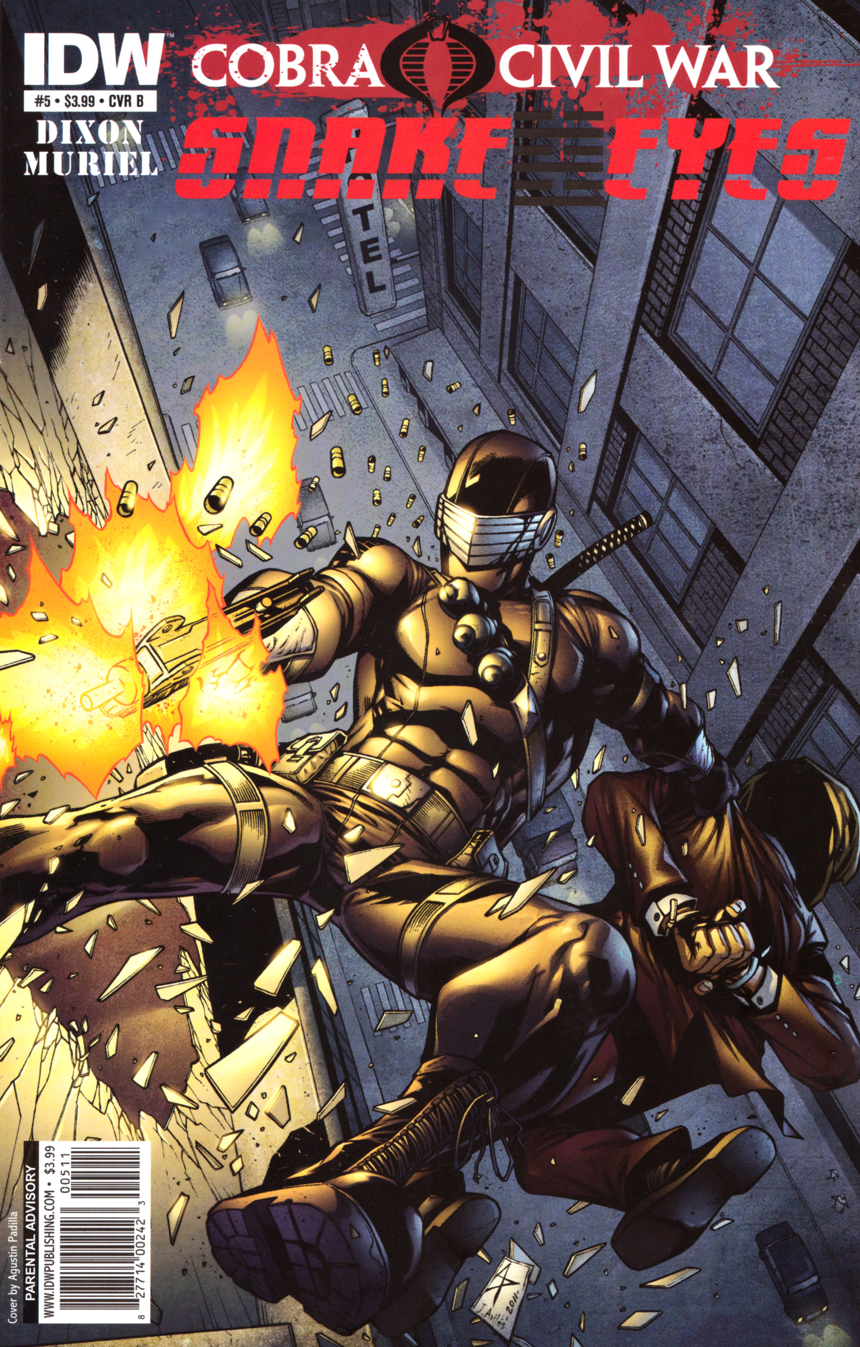Read online G.I. Joe: Snake Eyes comic -  Issue #5 - 2