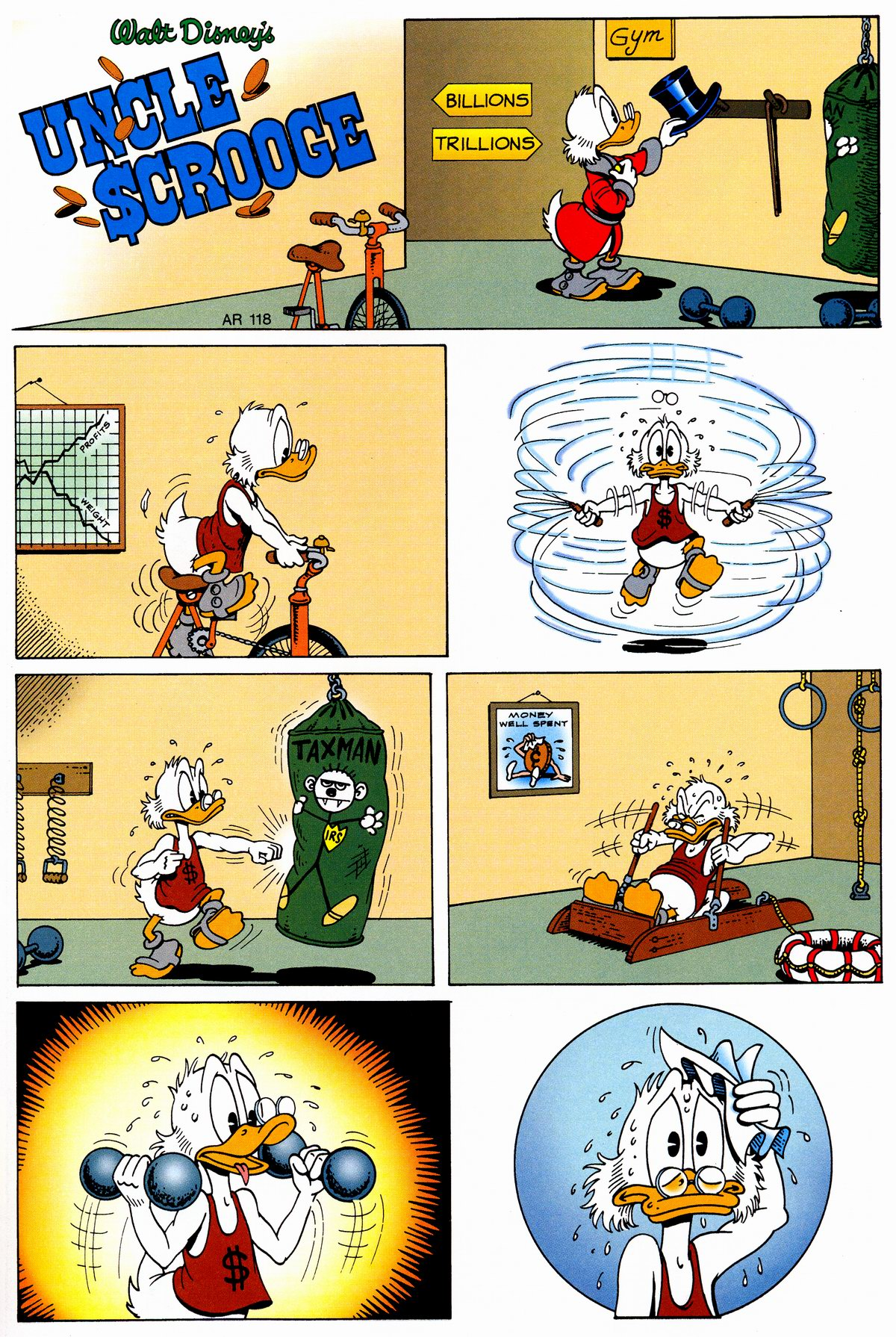 Read online Uncle Scrooge (1953) comic -  Issue #326 - 55