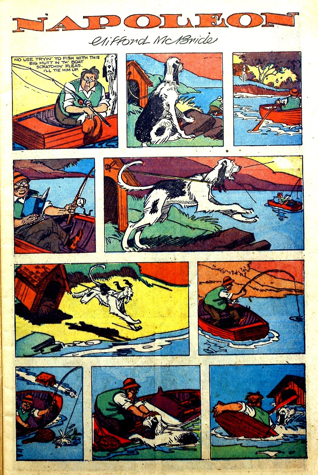 Read online Famous Funnies comic -  Issue #166 - 11