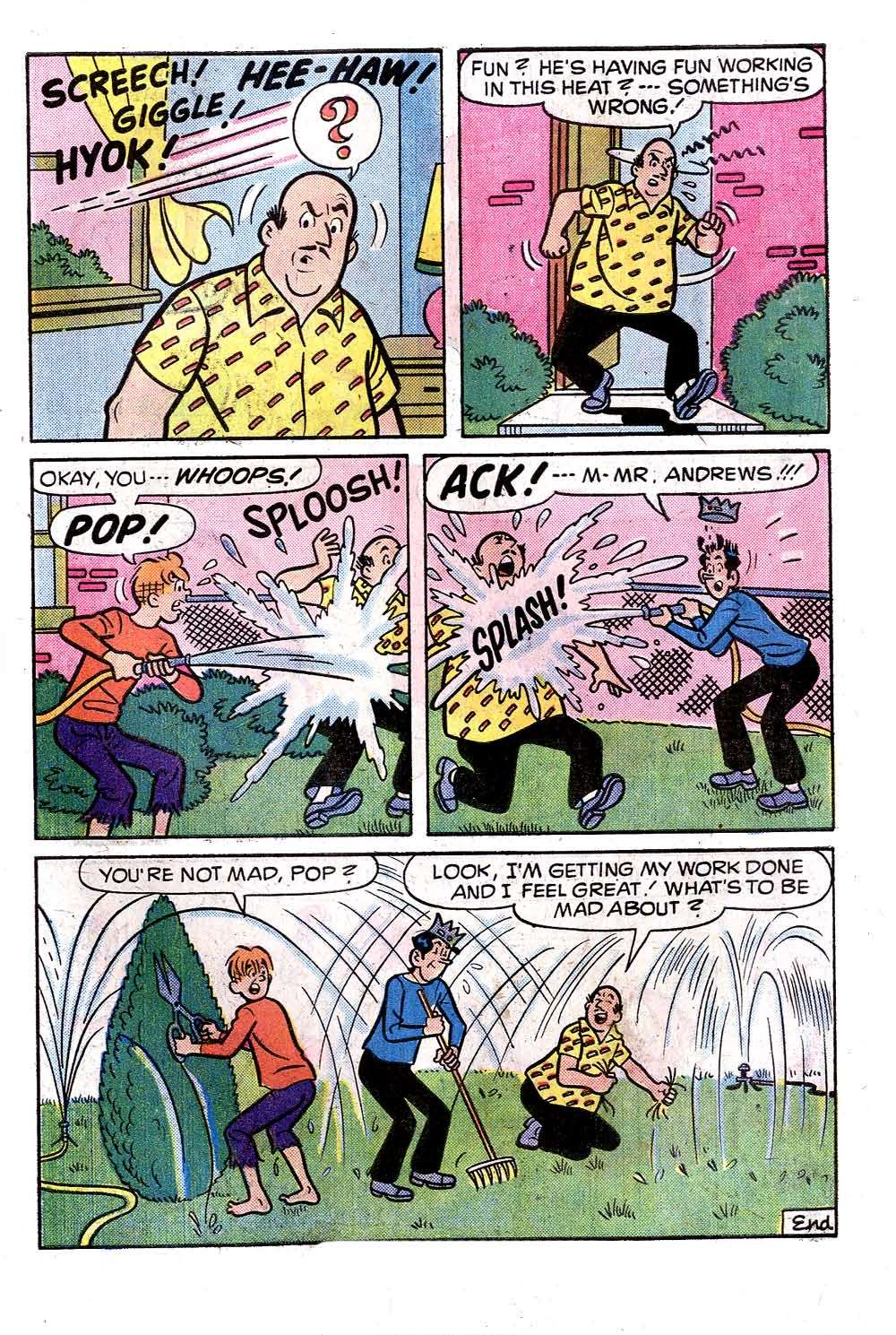 Read online Archie (1960) comic -  Issue #258 - 7