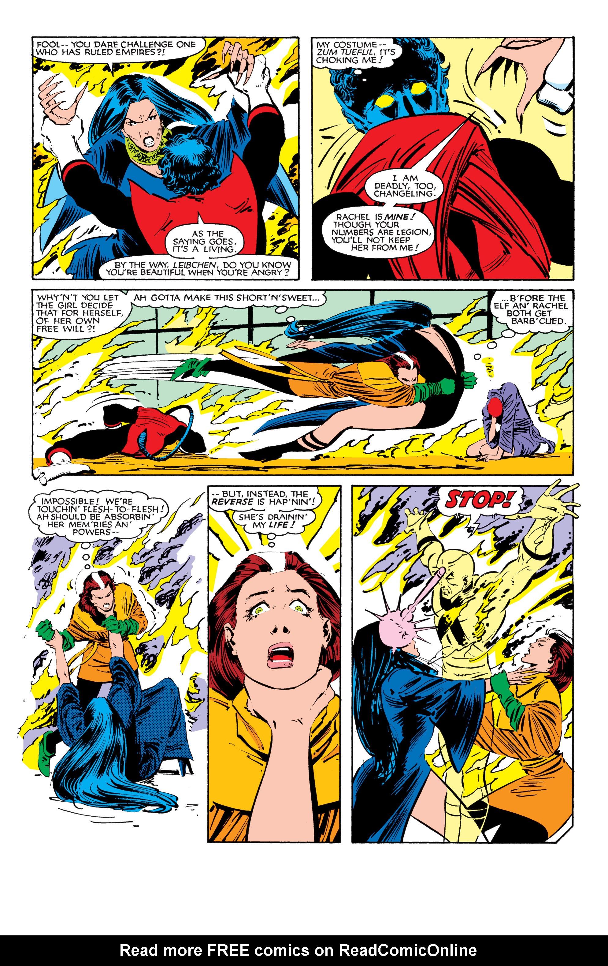 Read online Uncanny X-Men (1963) comic -  Issue #184 - 20