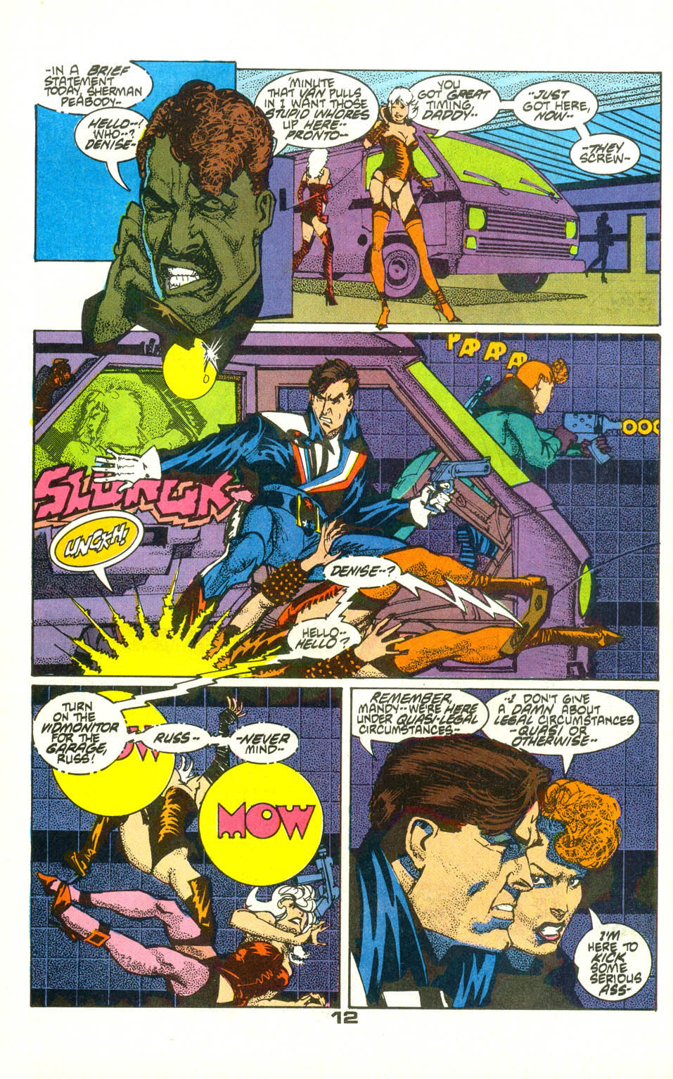 American Flagg! issue 22 - Page 14