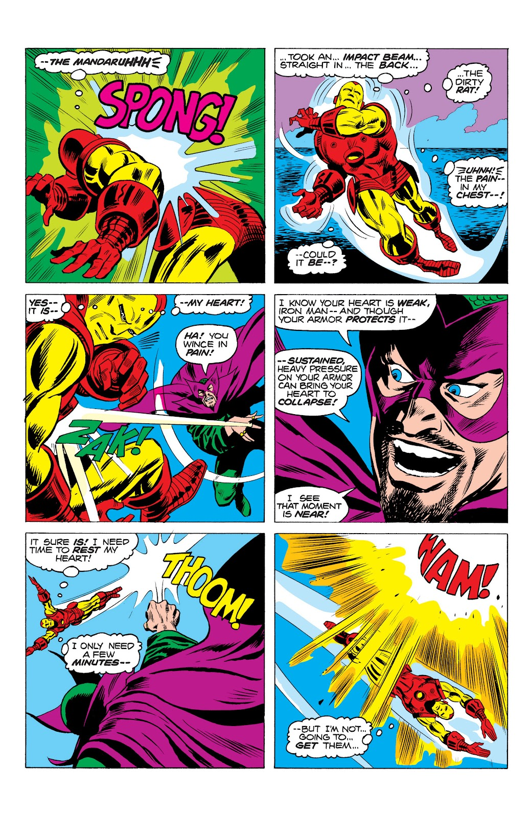 Read online Marvel Masterworks: The Invincible Iron Man comic -  Issue # TPB 10 (Part 1) - 39