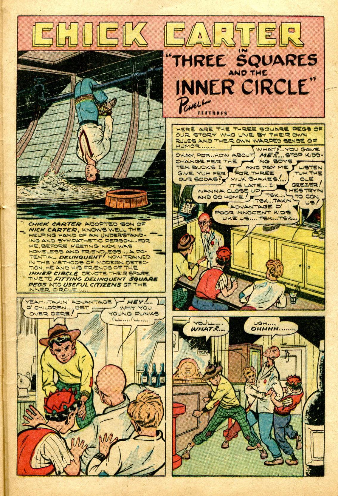Read online Shadow Comics comic -  Issue #96 - 37