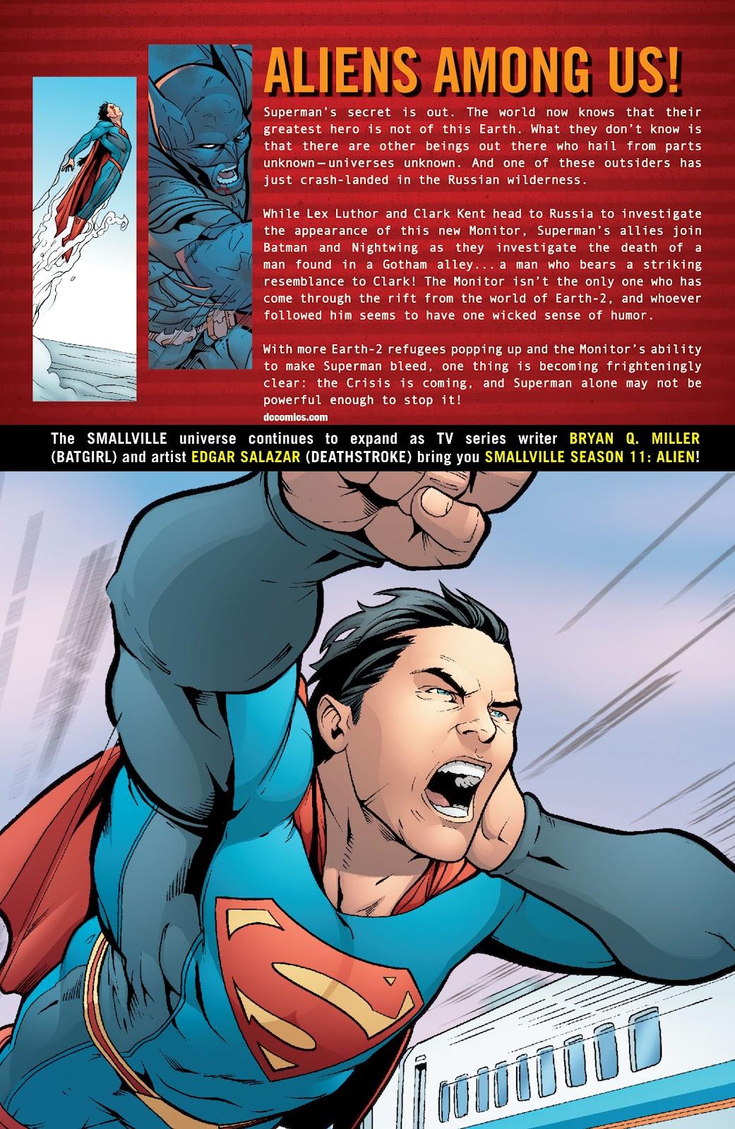 Read online Smallville Season 11 [II] comic -  Issue # TPB 6 - 175