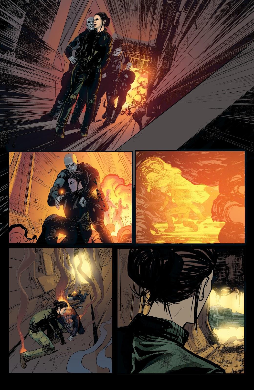 Read online Aliens: Resistance comic -  Issue #1 - 14