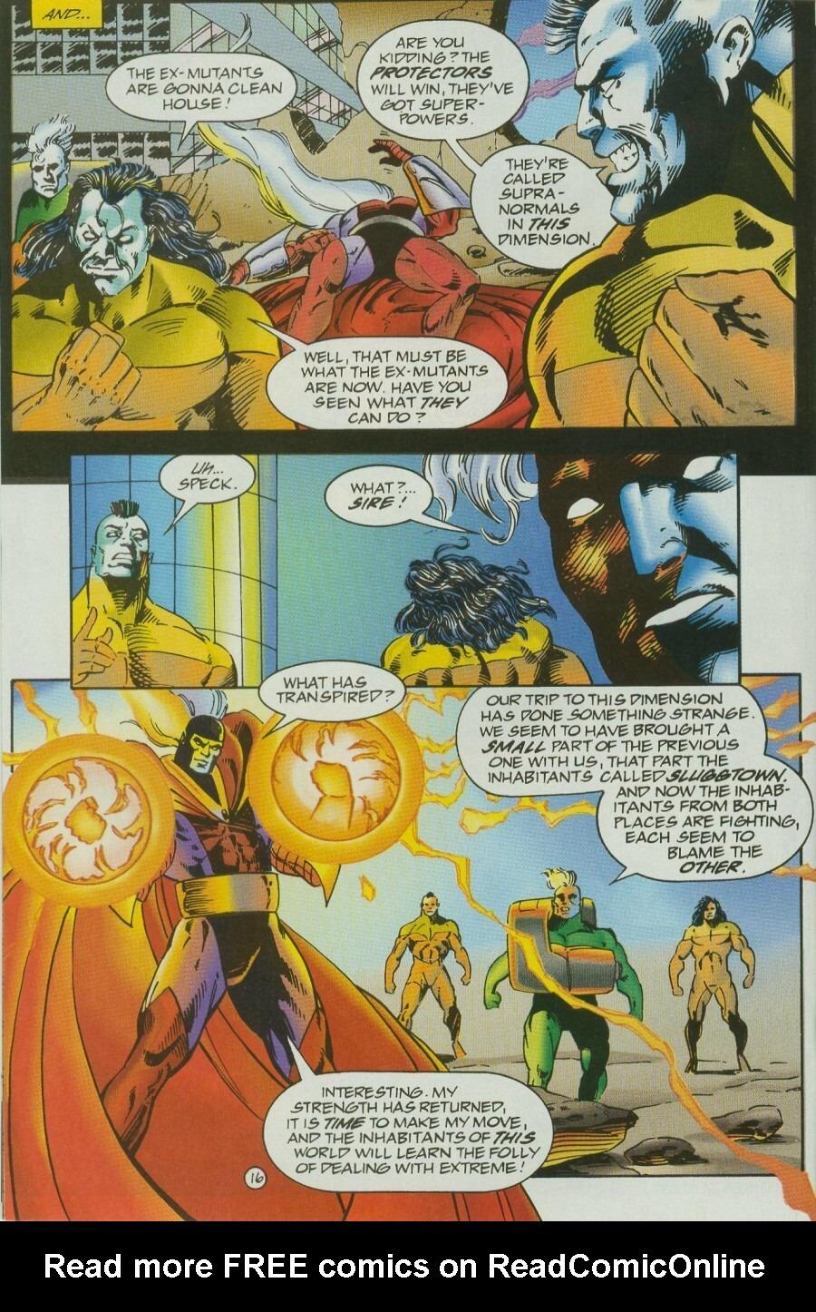 Read online Ex-Mutants comic -  Issue #12 - 19