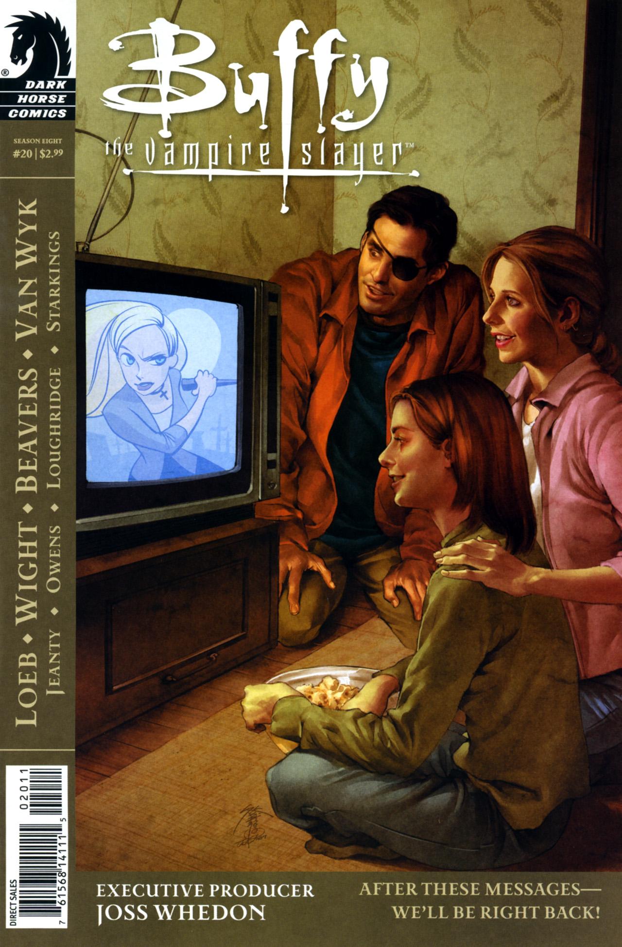 Buffy the Vampire Slayer Season Eight 20 Page 1
