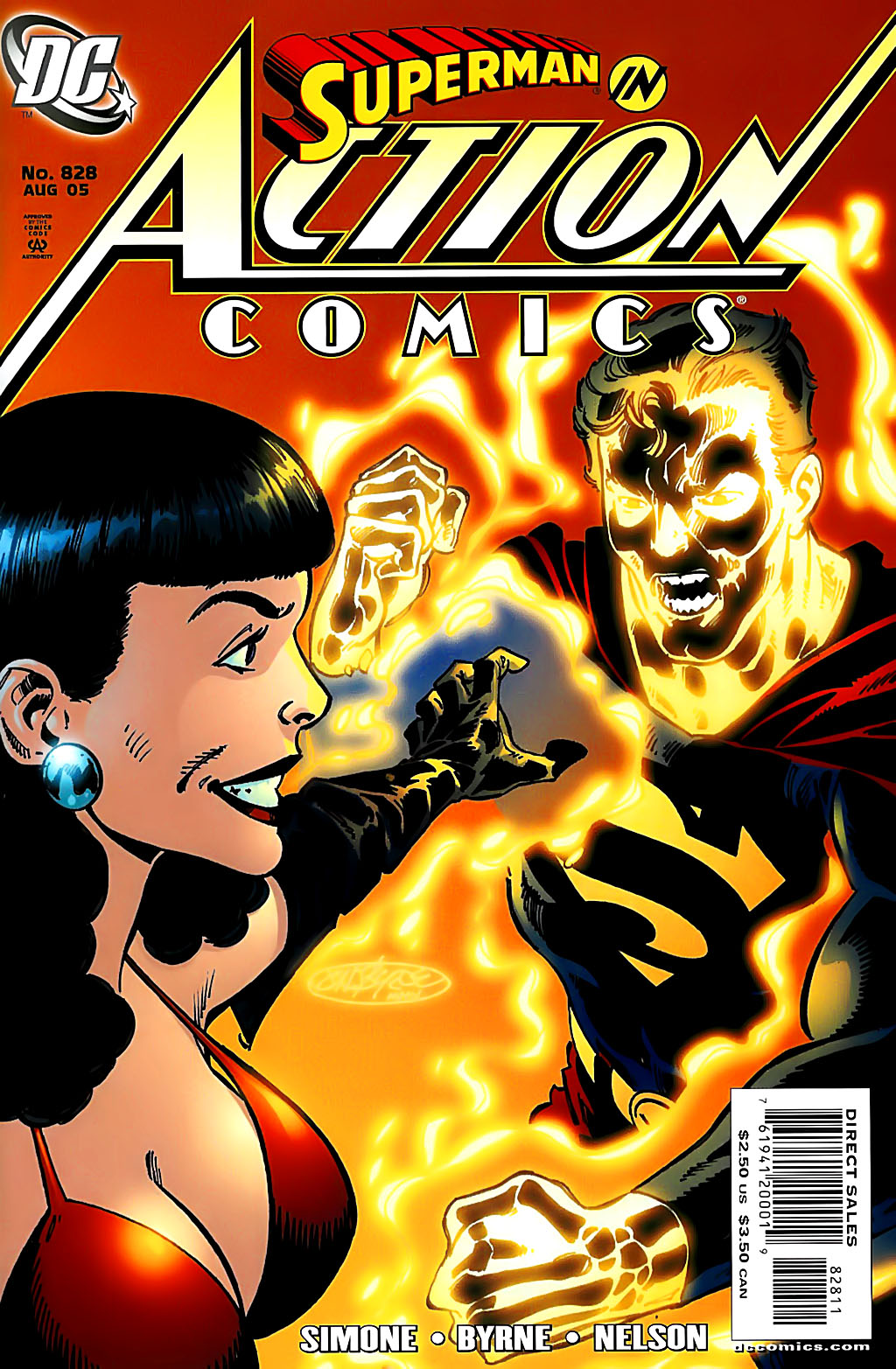 Read online Action Comics (1938) comic -  Issue #828 - 1