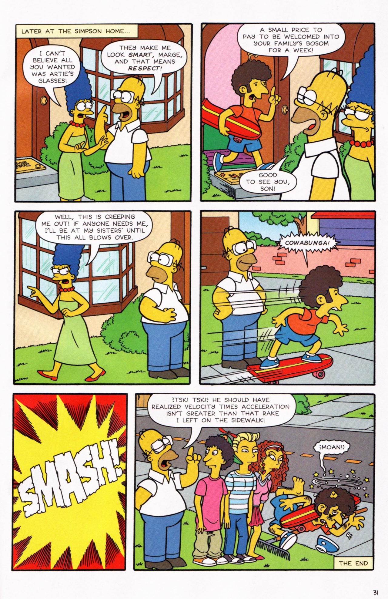 Read online Simpsons Comics comic -  Issue #130 - 26