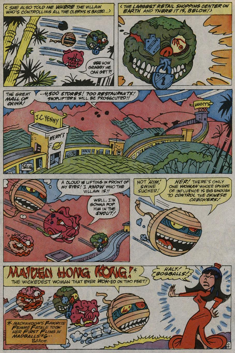 Madballs issue 9 - Page 17