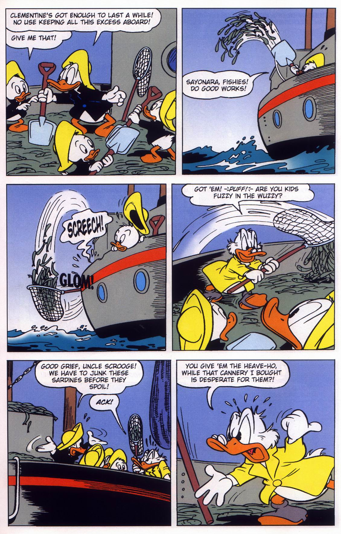 Read online Uncle Scrooge (1953) comic -  Issue #316 - 7