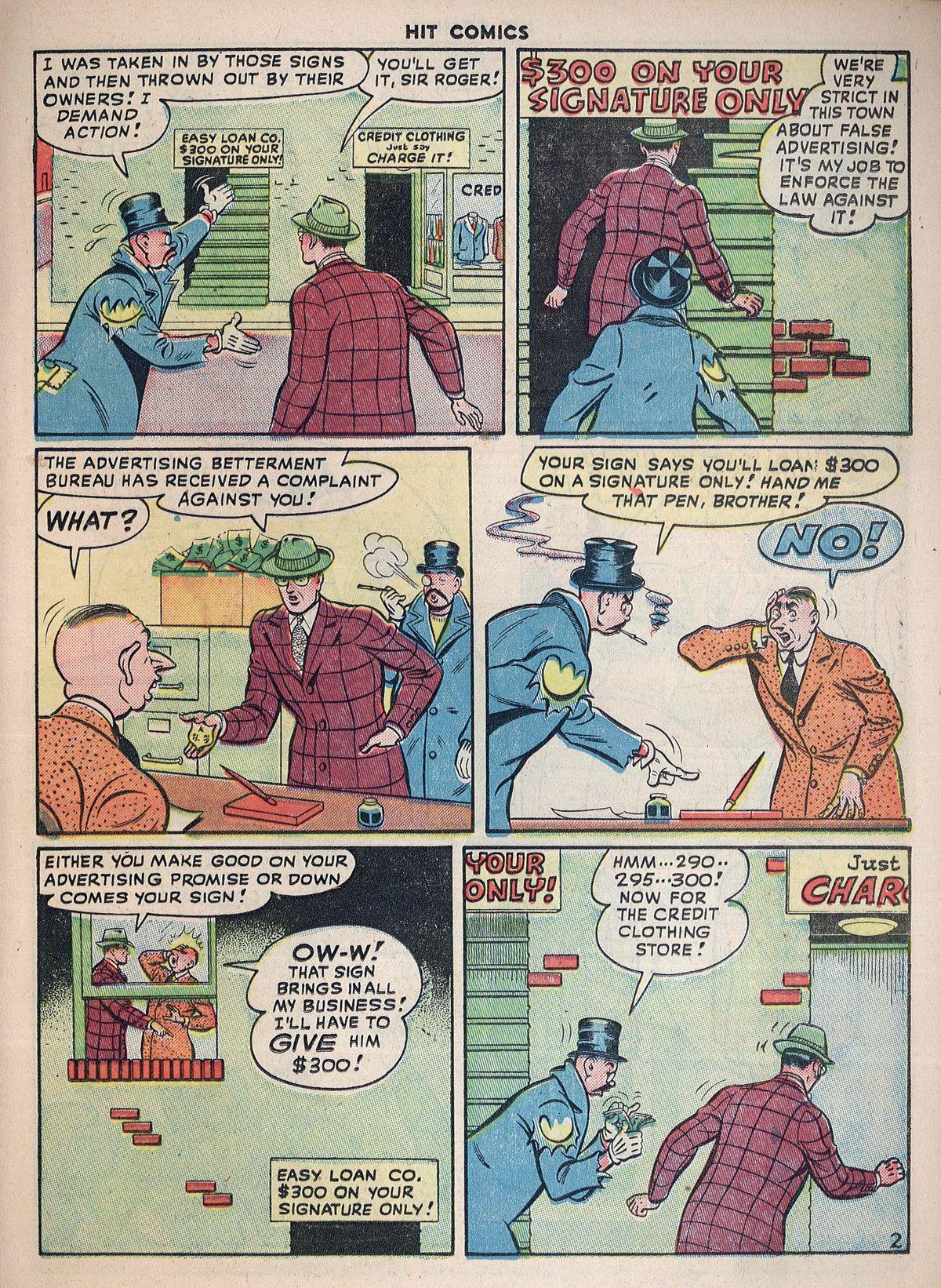 Read online Hit Comics comic -  Issue #55 - 33