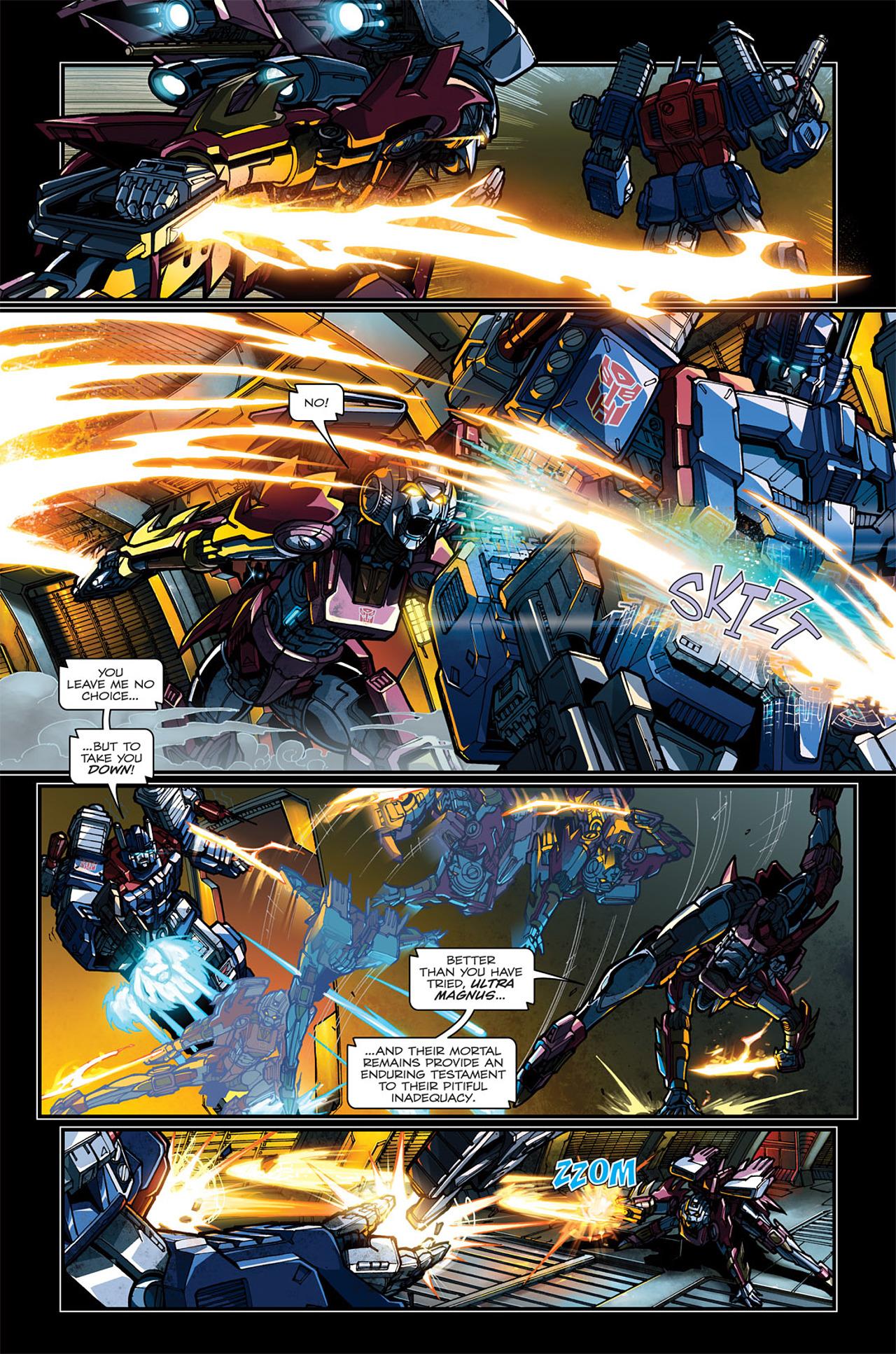 Read online Transformers: Spotlight - Arcee comic -  Issue # Full - 8