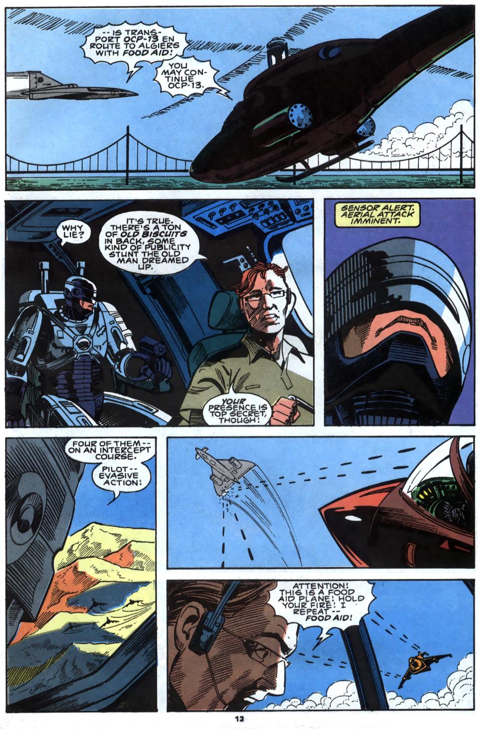 Read online Robocop (1990) comic -  Issue #5 - 11