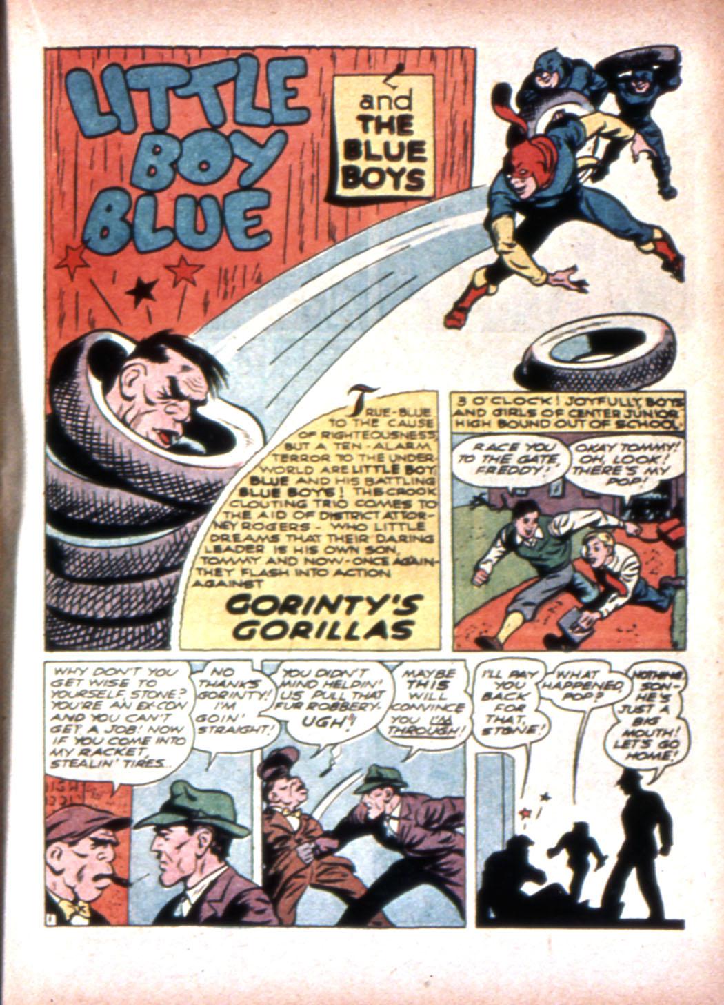 Read online Sensation (Mystery) Comics comic -  Issue #20 - 25