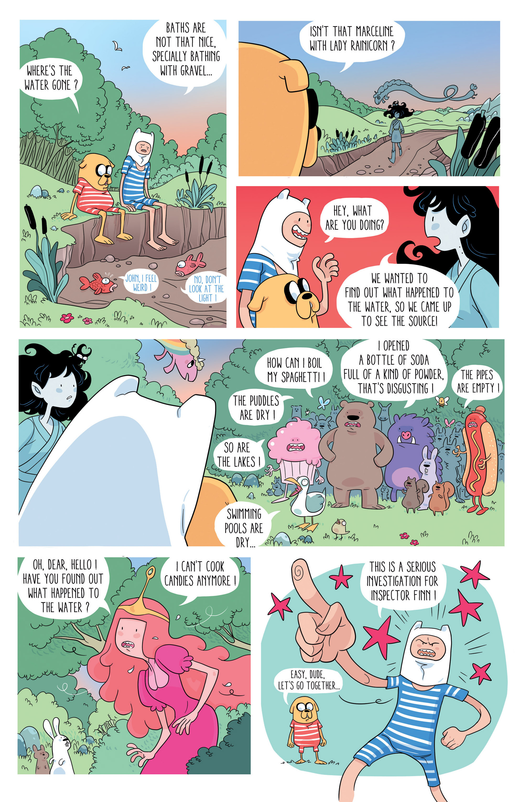 Read online Adventure Time comic -  Issue #46 - 19