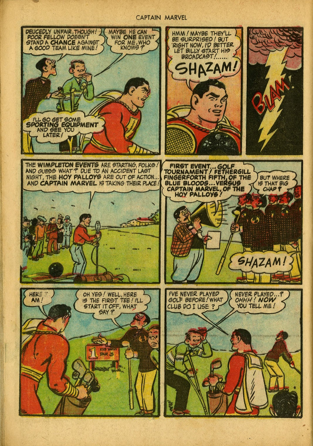 Captain Marvel Adventures issue 34 - Page 24
