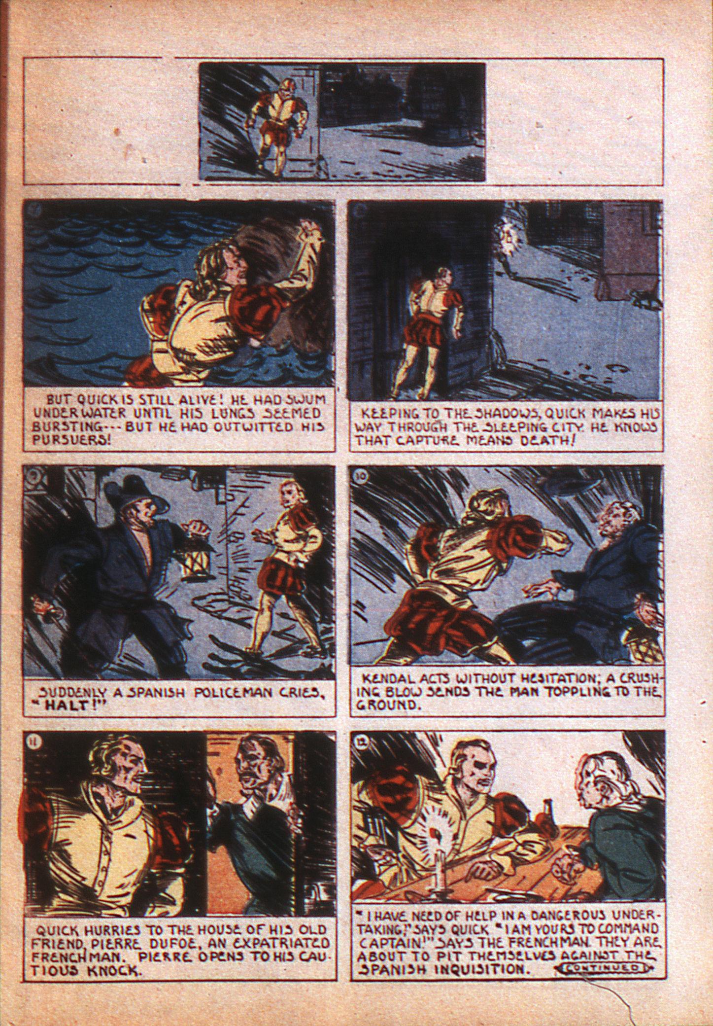 Read online Adventure Comics (1938) comic -  Issue #8 - 12