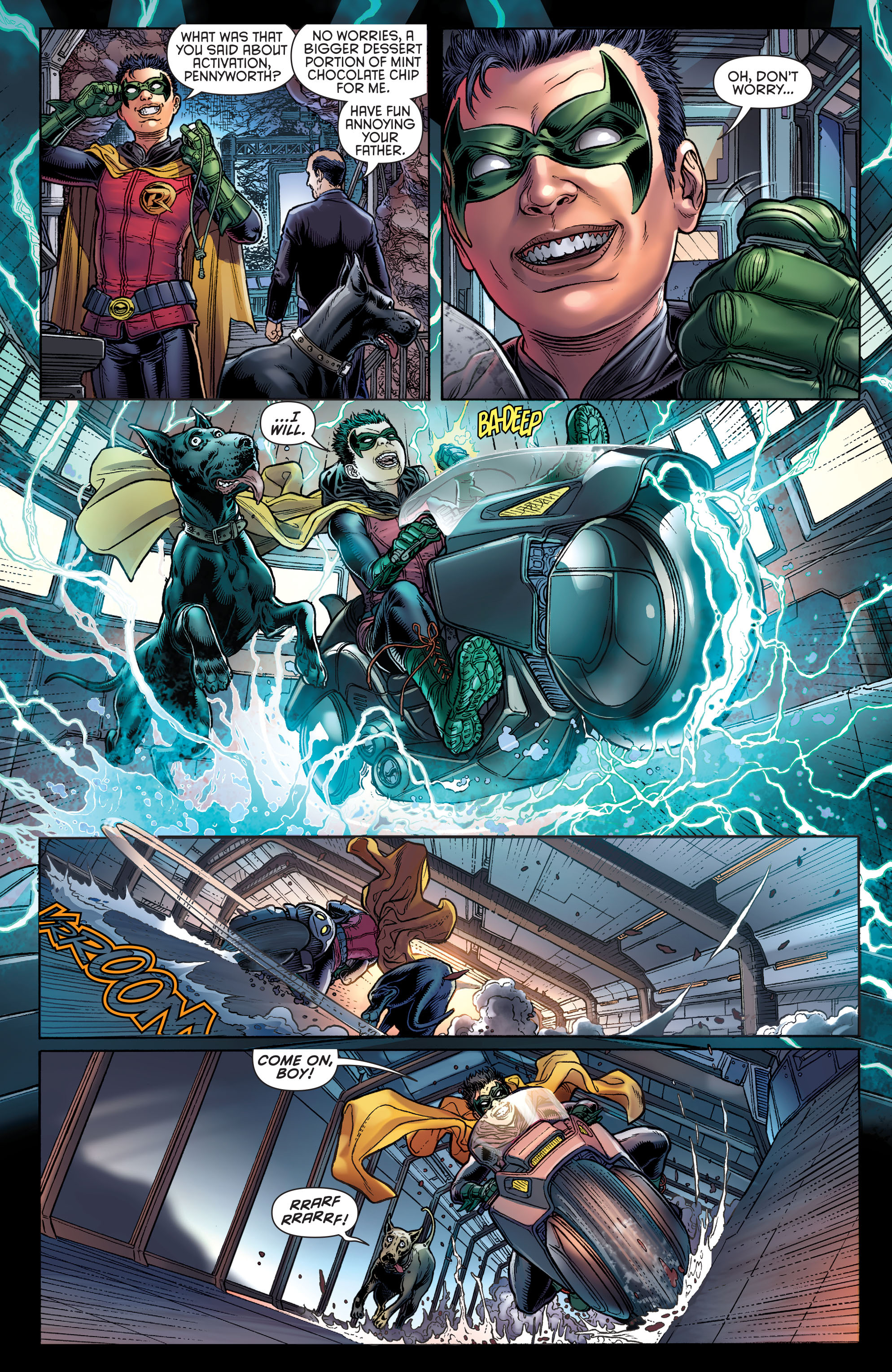 Read online Batman and Robin (2011) comic -  Issue # Annual 3 - 4