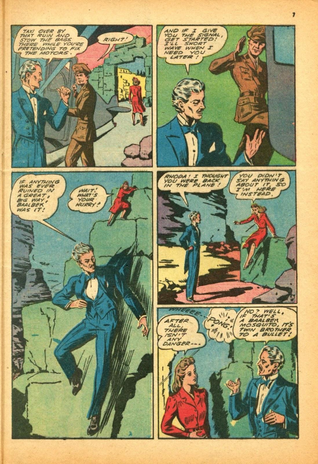 Read online Super-Magician Comics comic -  Issue #12 - 7