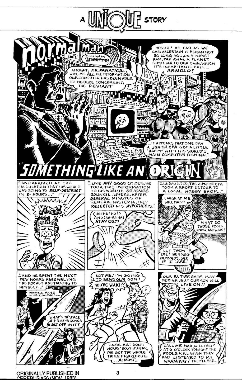 Read online Normalman - The Novel comic -  Issue # TPB (Part 1) - 8