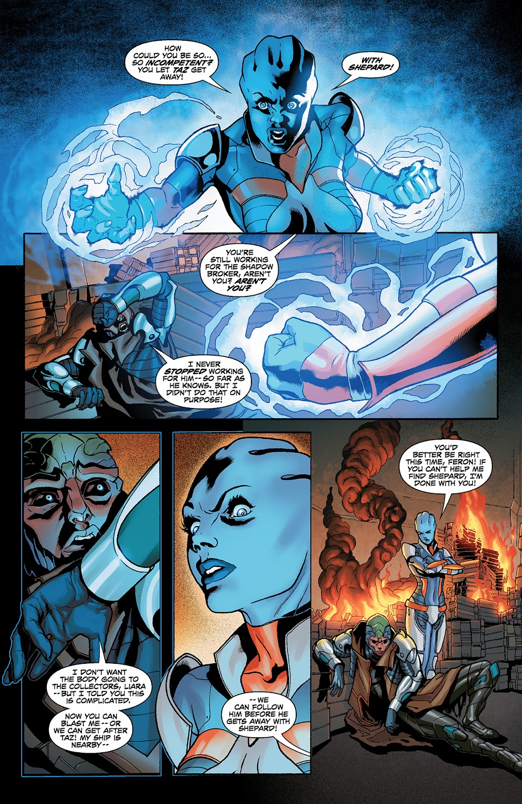 Mass Effect: Redemption Issue #3 #3 - English 4