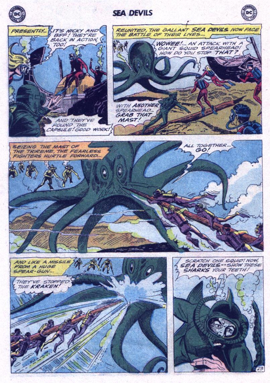 Read online Sea Devils comic -  Issue #23 - 30