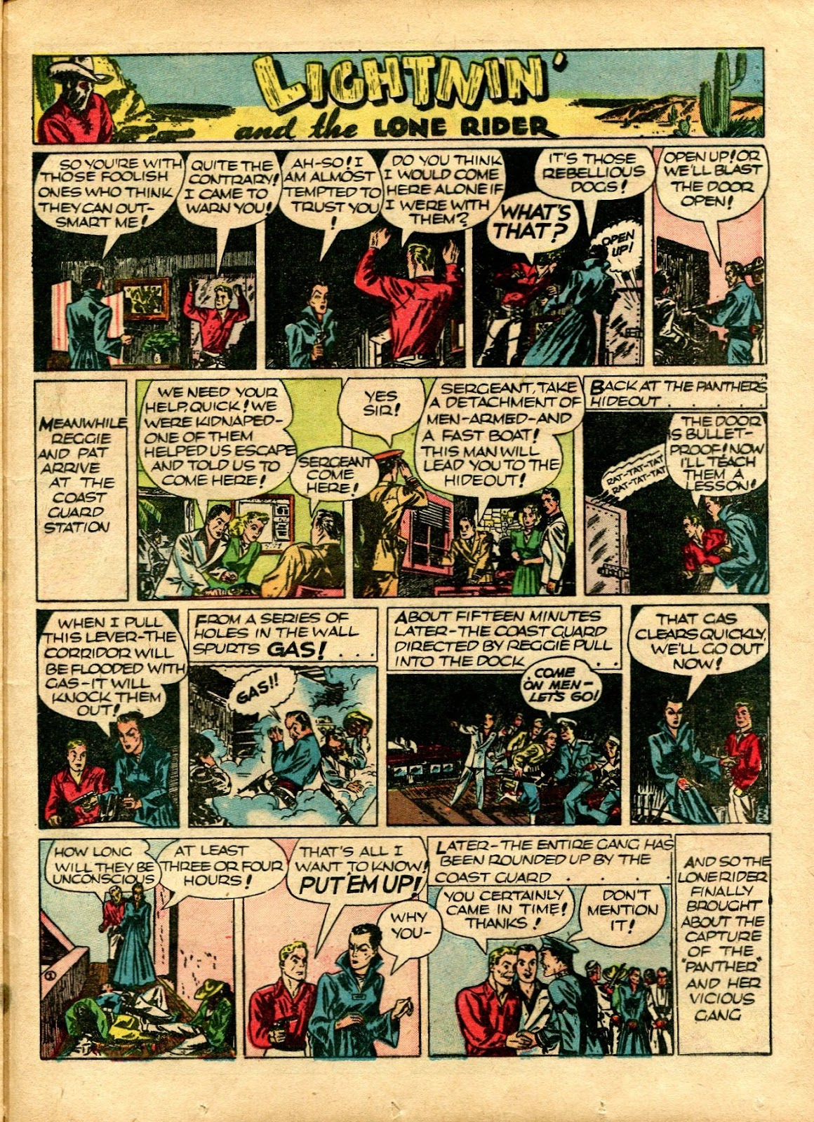 Read online Famous Funnies comic -  Issue #72 - 49