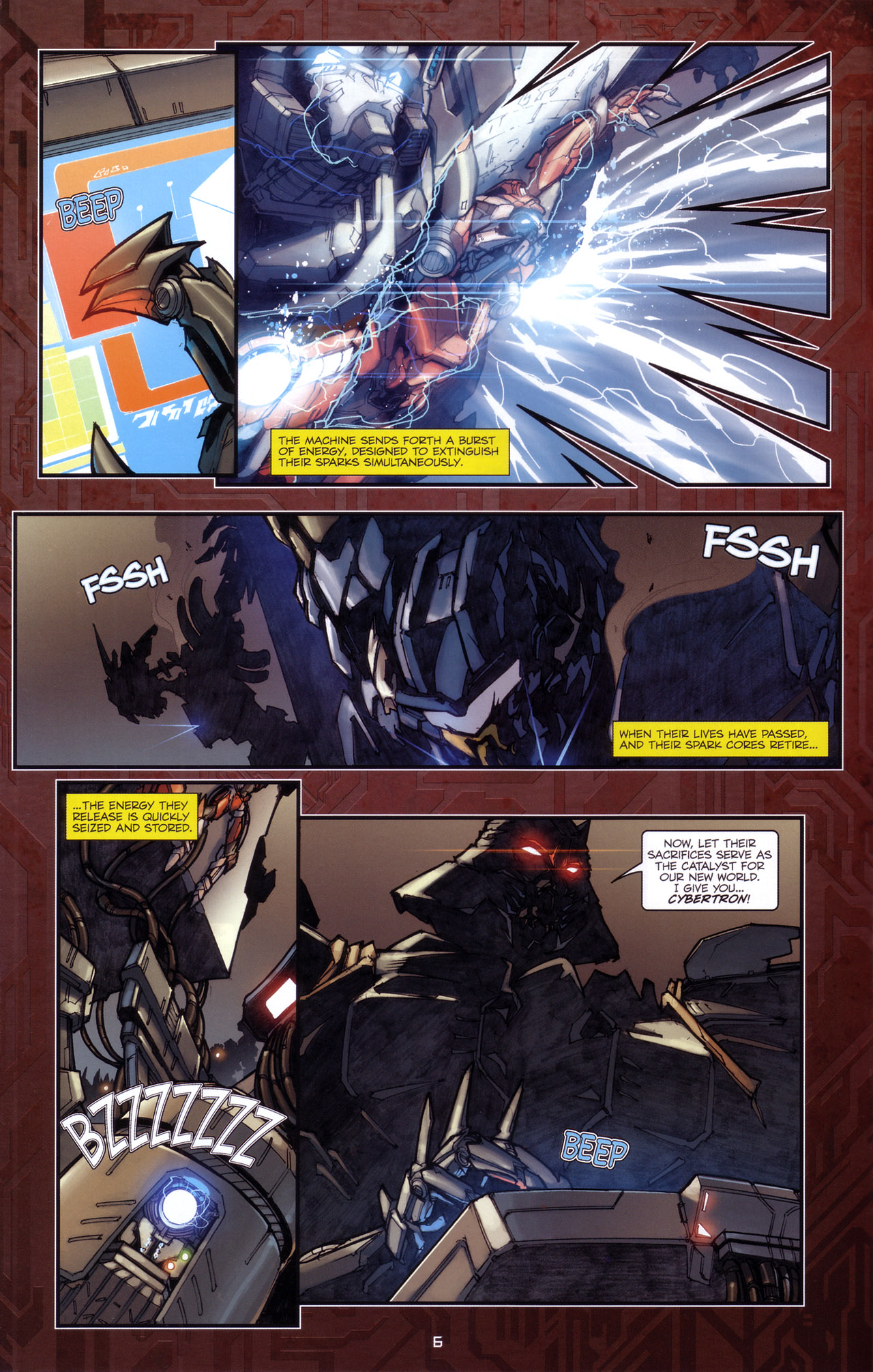 Read online Transformers: The Reign of Starscream comic -  Issue #5 - 9