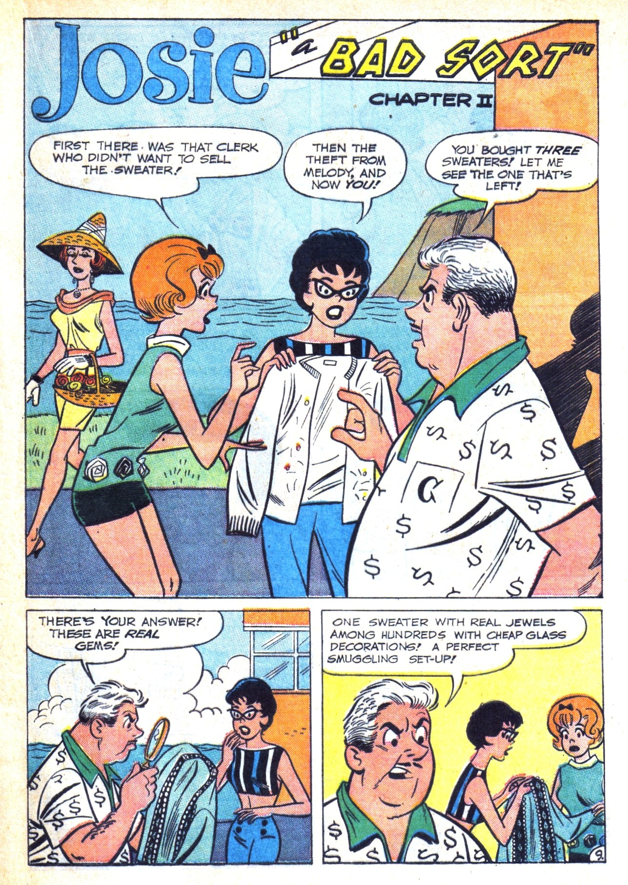 Read online She's Josie comic -  Issue #3 - 13