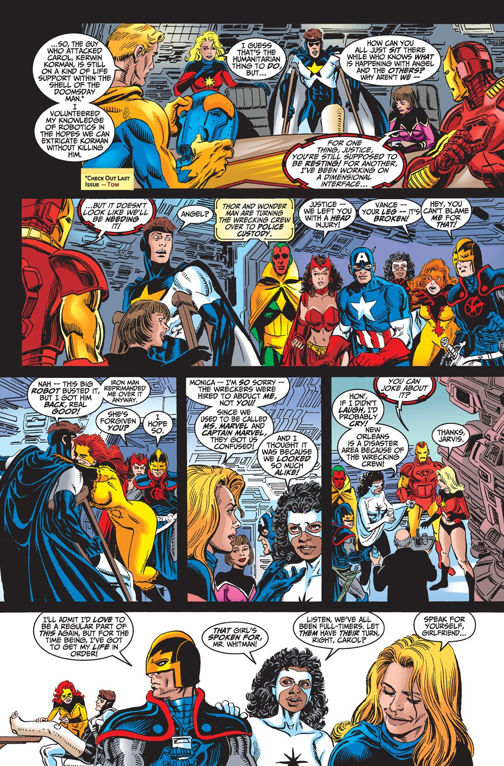 Read online Avengers (1998) comic -  Issue #18 - 21