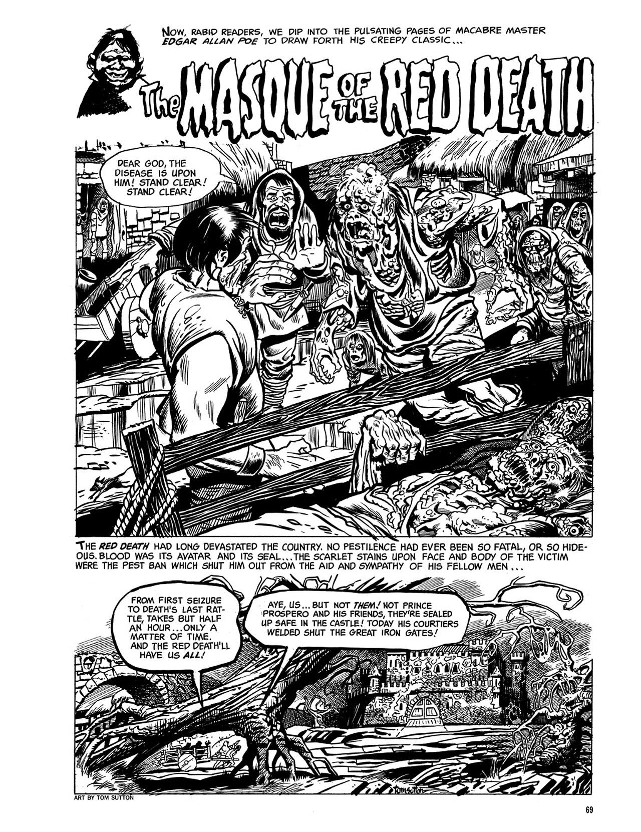 Read online Eerie Archives comic -  Issue # TPB 3 - 70