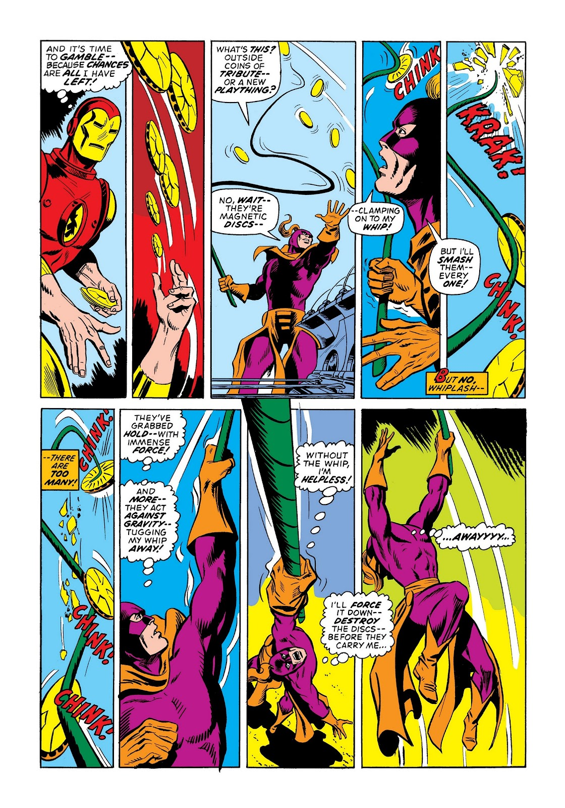 Read online Marvel Masterworks: The Invincible Iron Man comic -  Issue # TPB 9 (Part 2) - 88