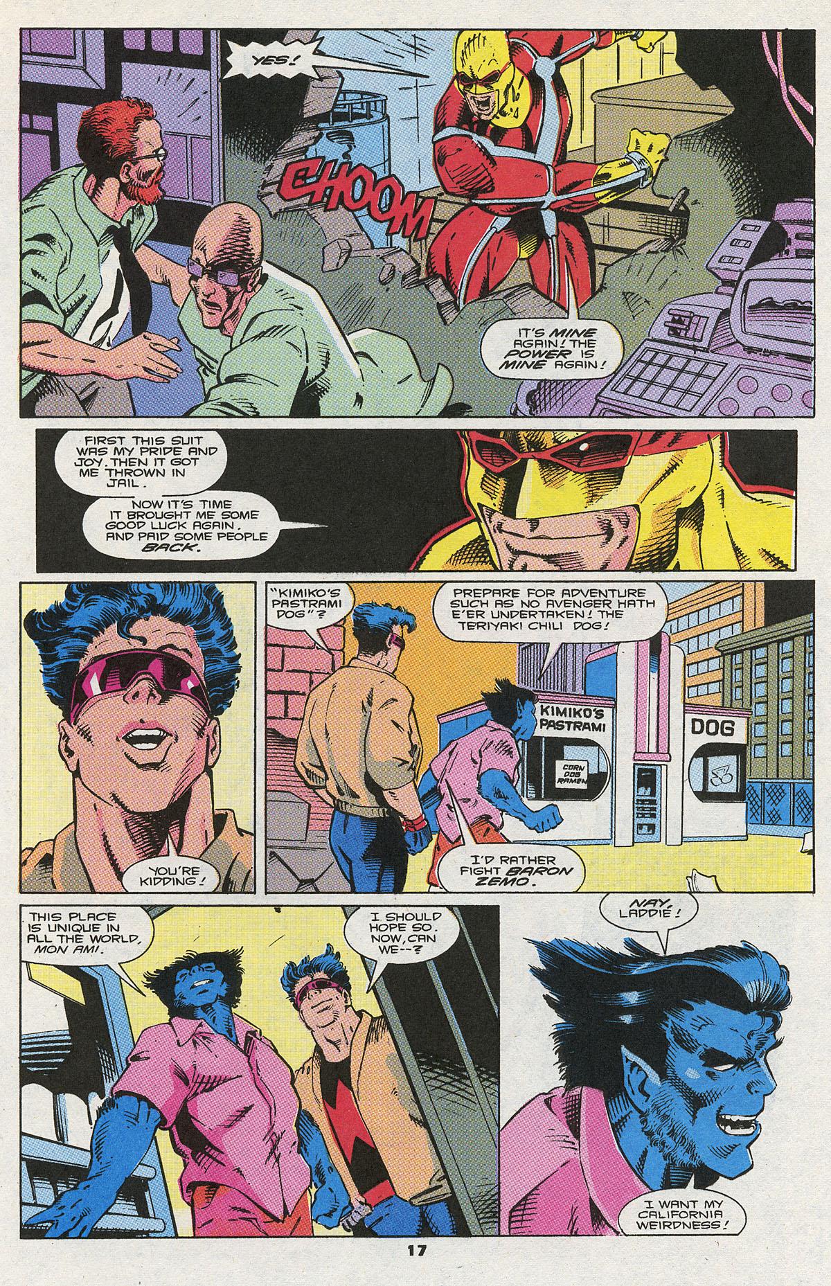 Read online Wonder Man (1991) comic -  Issue #5 - 15
