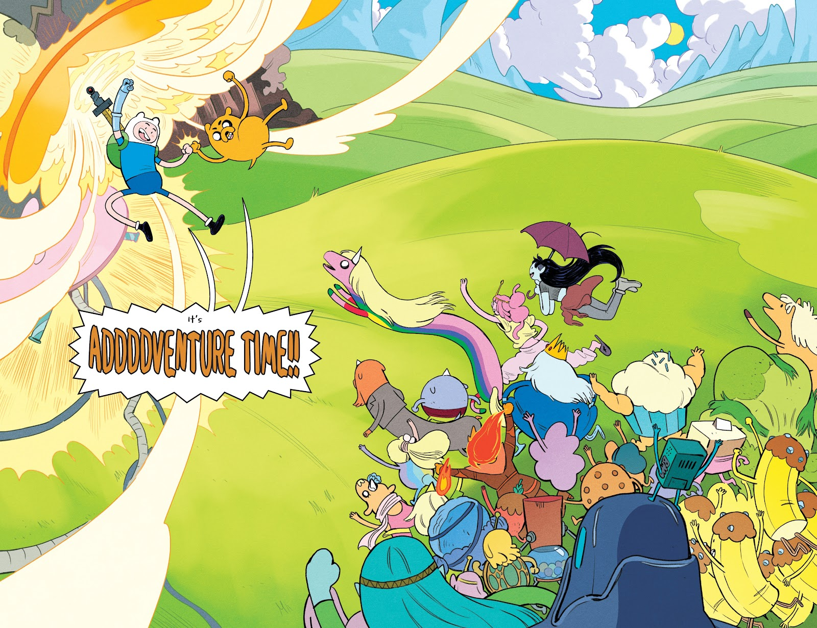 Read online Adventure Time: Beginning of the End comic -  Issue # _TPB - 95
