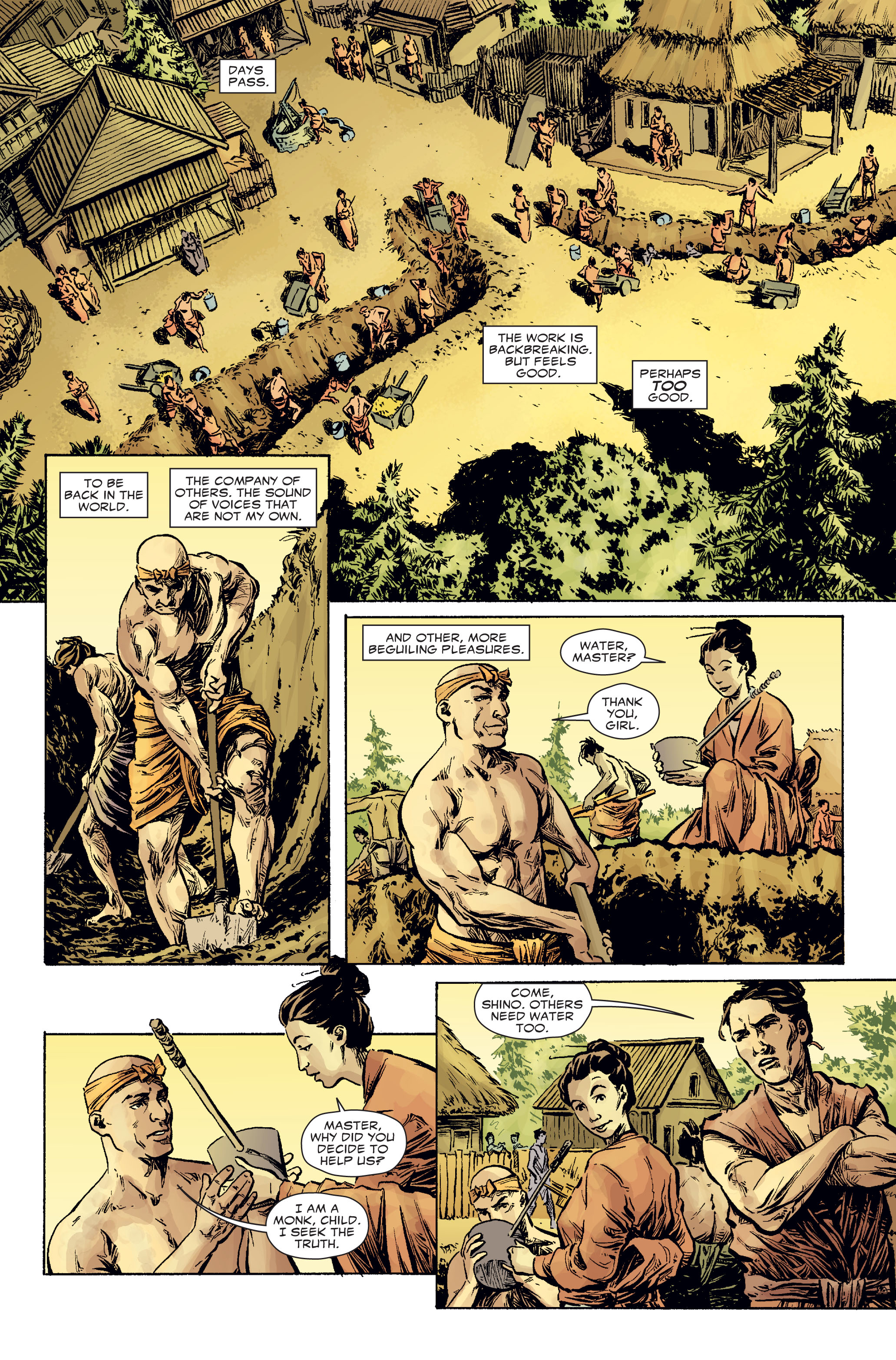 Read online 5 Ronin (2011) comic -  Issue #2 - 14