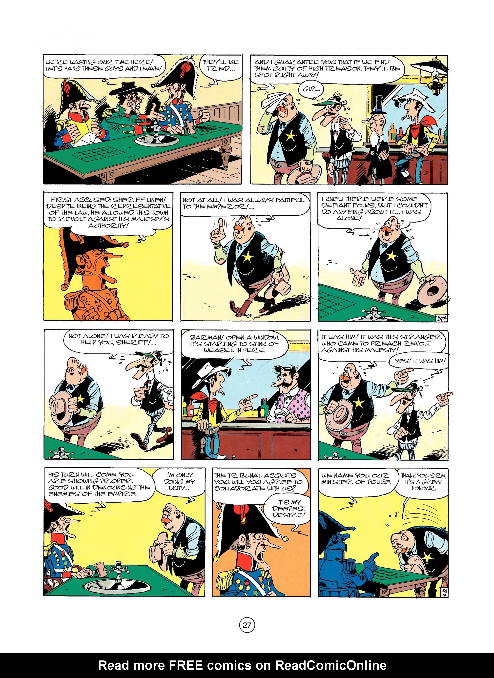Read online A Lucky Luke Adventure comic -  Issue #22 - 27